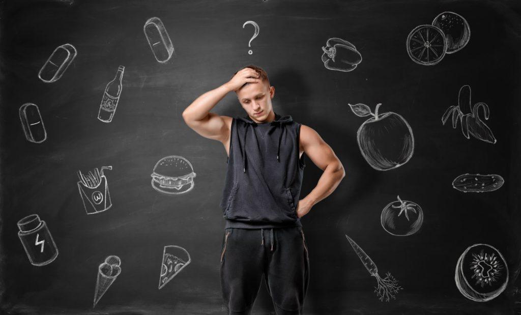 fit body deciding his low carb diet