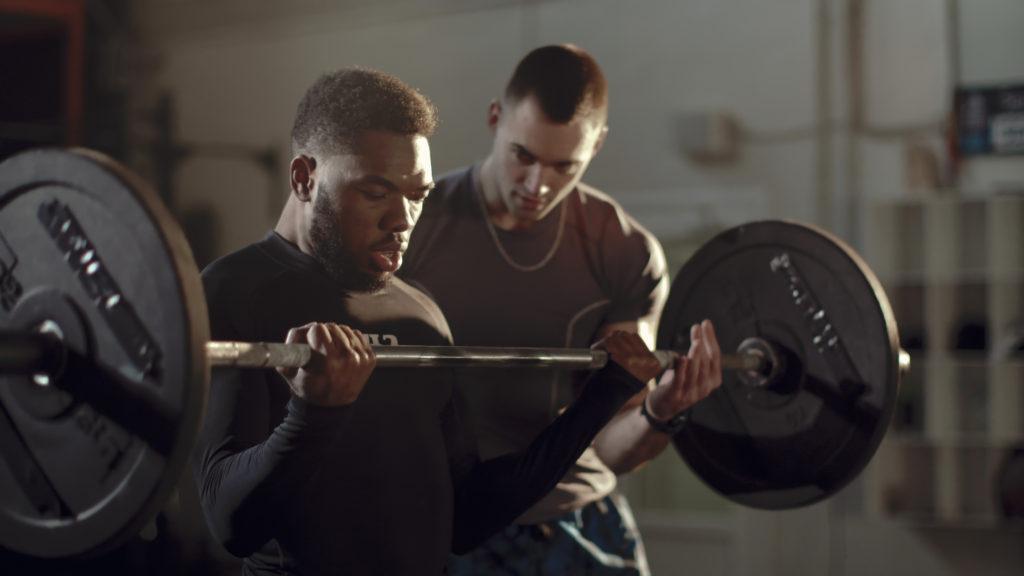 fit guy biceps