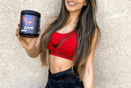 woman with pre-workout